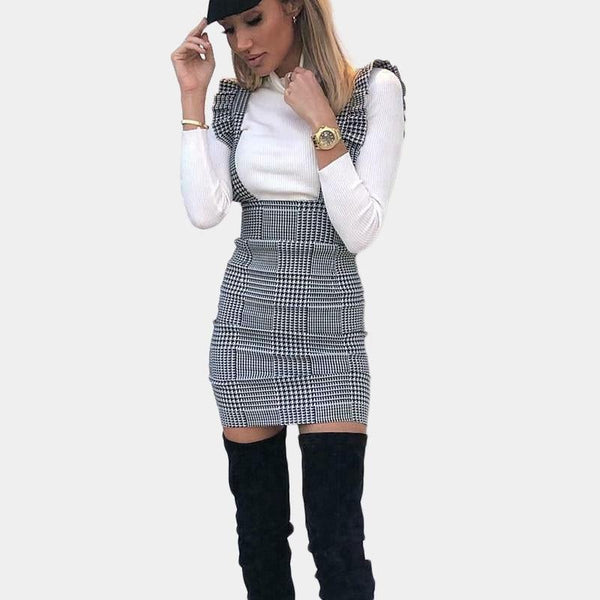 Mini Pinafore Dress