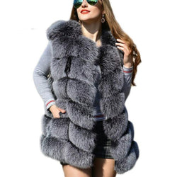 Faux Fur Bubble Gilet
