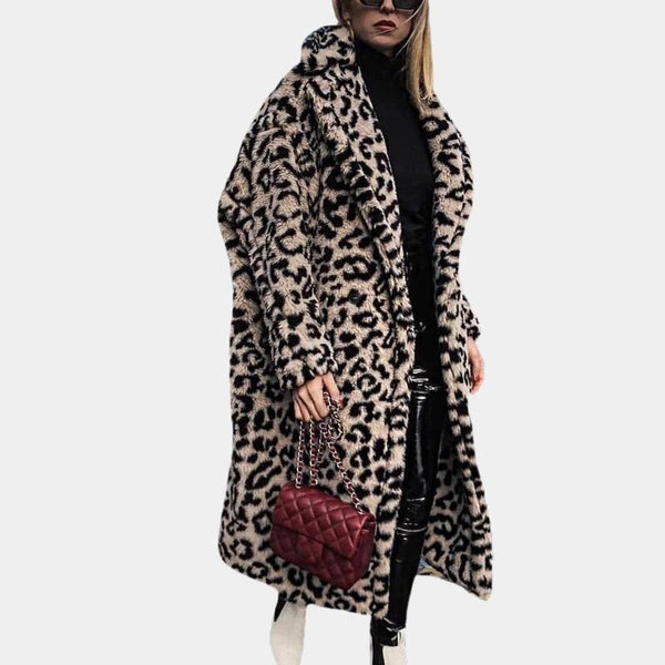 Winter Leopard Teddy Bear Coat