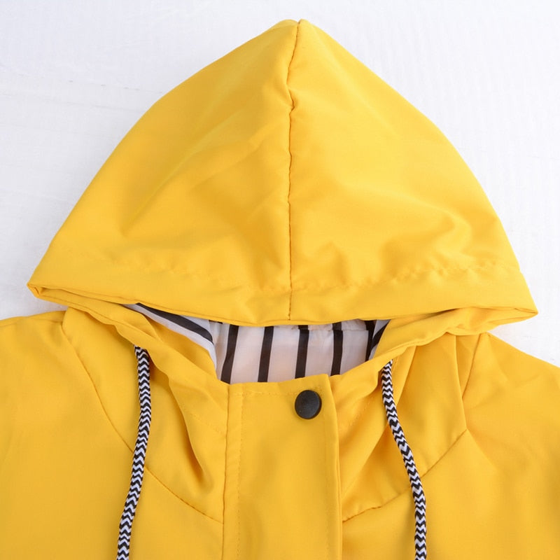 Faith Yellow Coat - Waterproof