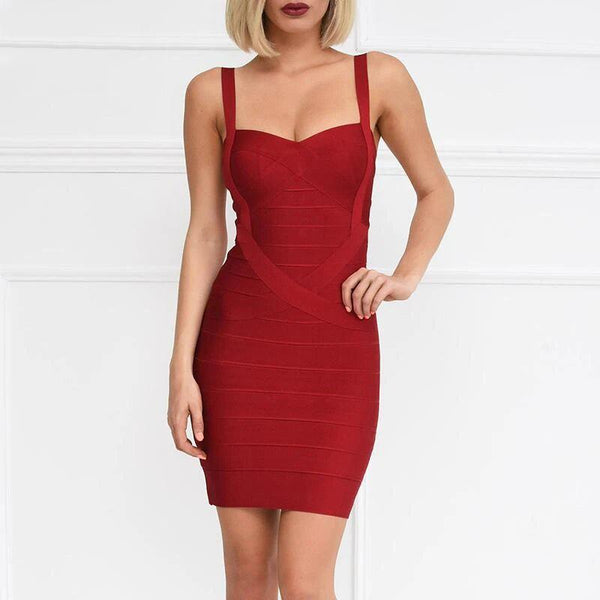 Mini Bodycon Bandage Dress