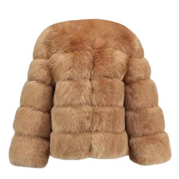Faux Fur Coat - Luxe Fluffy