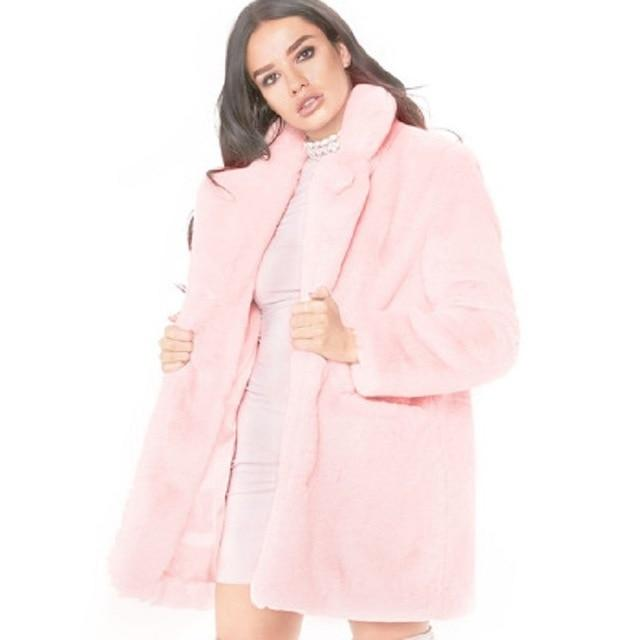Faux Fur Coat - Oversized Fit - Super Soft