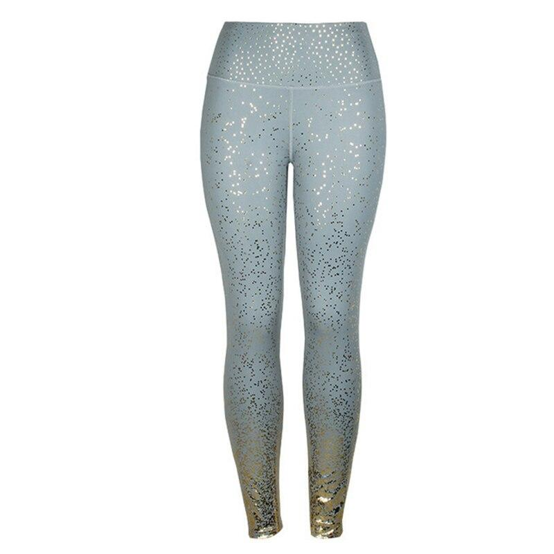 Activewear Gold Sparkle Leggings