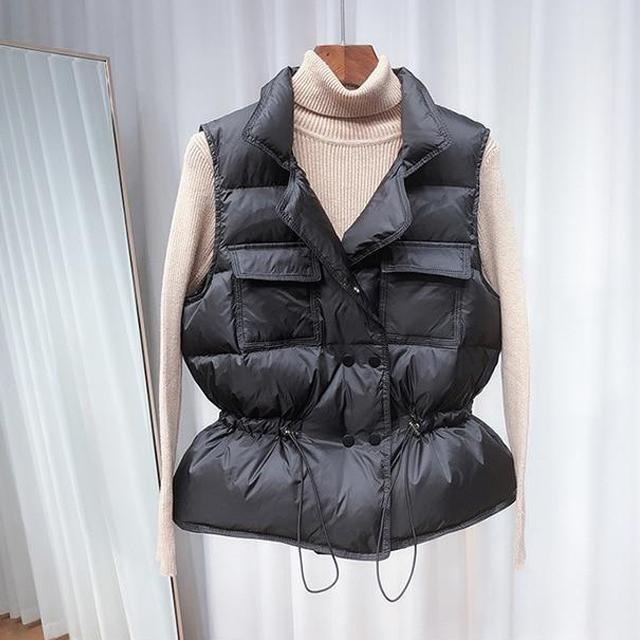 Lightweight Down Vest - Duck Down Down Padded Gilet