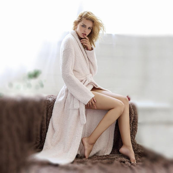 Soft Fleece Long Super Dressing Gown