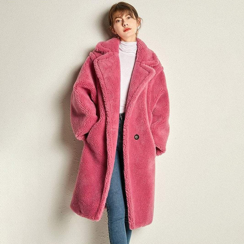 Shearling Teddy Bear Icon Coat