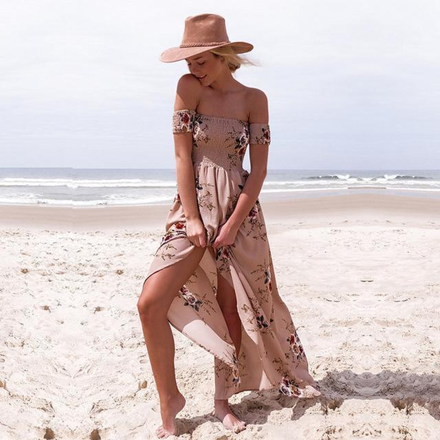Boho Maxi Dress dresses - Ultamodan