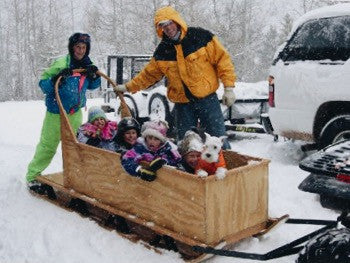 Perfect Cabin Freight Sled Testimonial