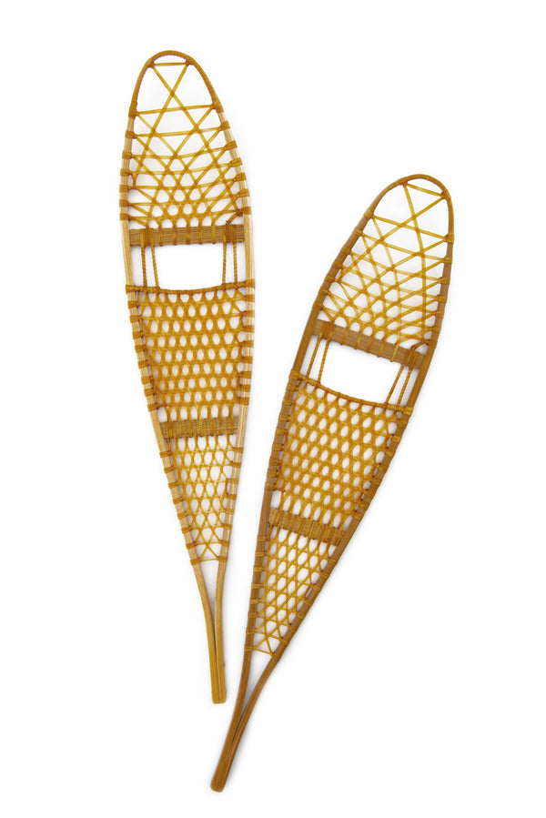 Traditional Alaskan Wooden Snowshoes