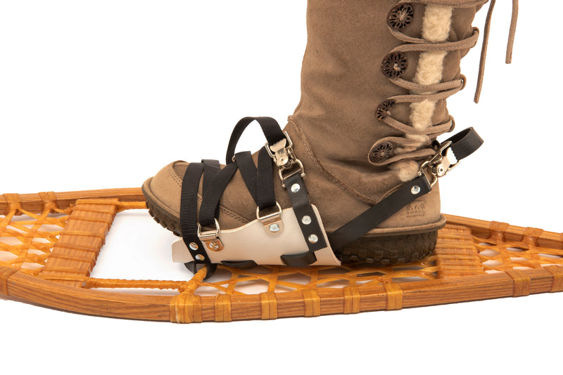 DIY wooden ojibwa snowshoes