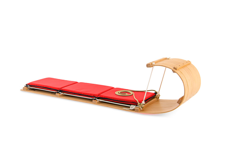 The Classic Wood Toboggan Sled (6ft)