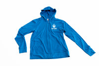 lightweight northern toboggan blue zip up sweatshirt