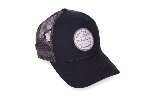 stylish minnesota northern toboggan patch trucker hat