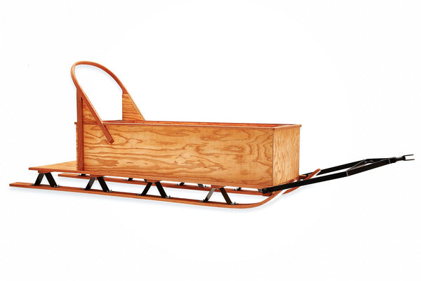Box Freight Sled Northern Toboggan Wooden Sleds Northern Toboggan Co