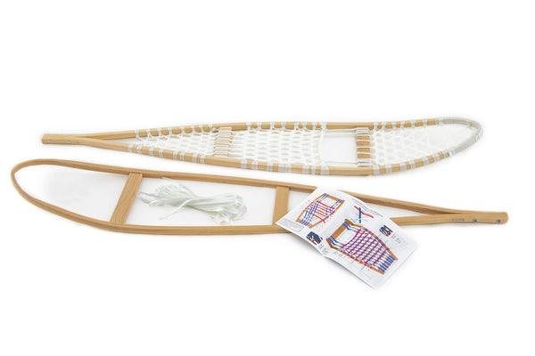 DIY wooden snowshoes kit