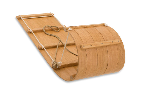 The Little Classic Wood Toboggan - 4ft