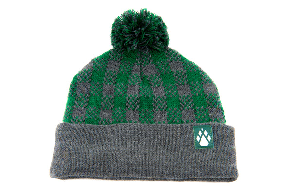 Plaid Toboggan Hat