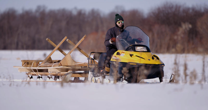 Snowmobile Freight Sled
