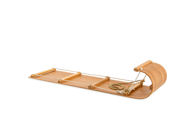 diy wooden sled toboggan kit
