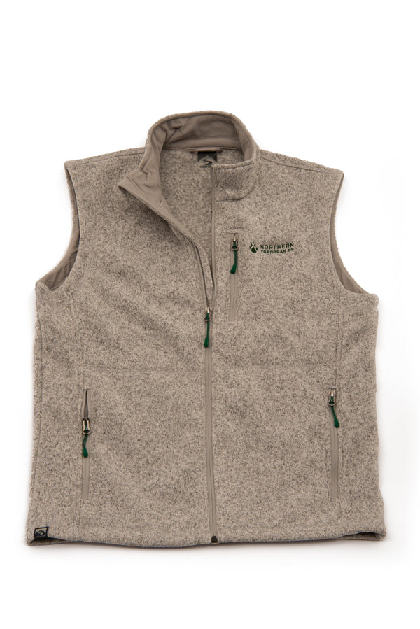 fleece northern toboggan sweater vest minnesota