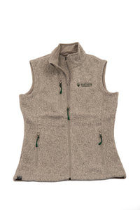 womens sweater fleece vest