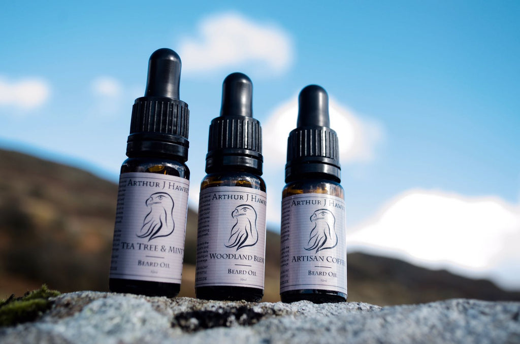 Arthur J Hawke - Luxury Handcrafted Beard Oils