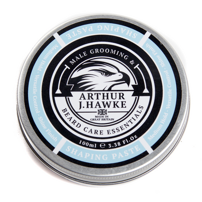 Arthur J Hawke Beard Shaping Paste 100ml | Beard Care | Beard Balm