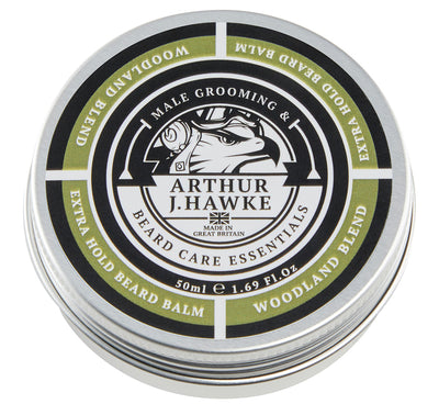 Arthur J Hawke Woodland Blend Extra Hold Beard Balm | Beard Oil