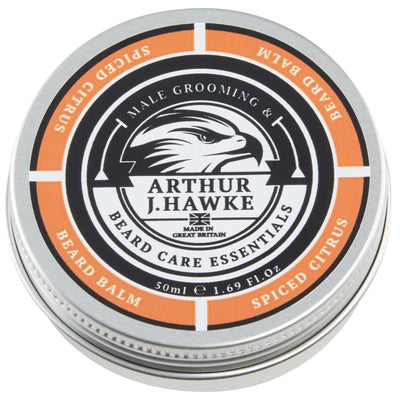 Arthur J Hawke Spiced Citrus Beard Balm | Beard Oil | Beard Care