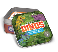 Dinosaur Match Memory Word Game Qurious DINOS