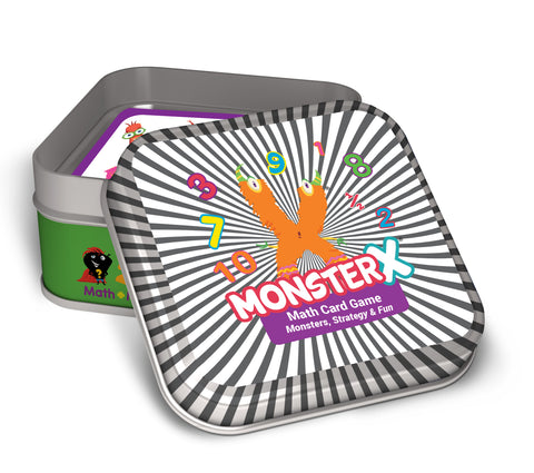 MonsterX Math Card Game