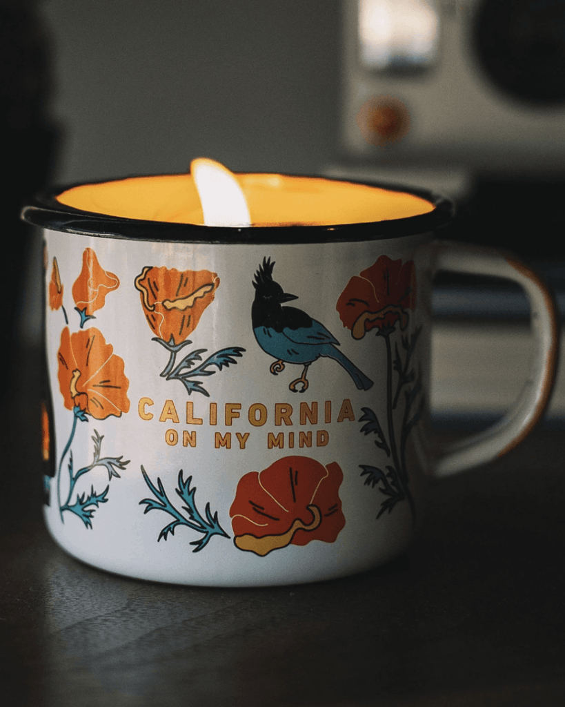 California on my Mind Scented Candle - Wondery