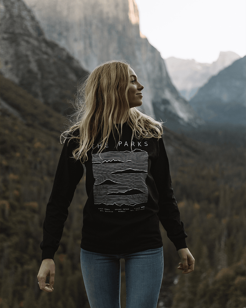 Moving Mountains Heavy Long Sleeve Tee - Wondery