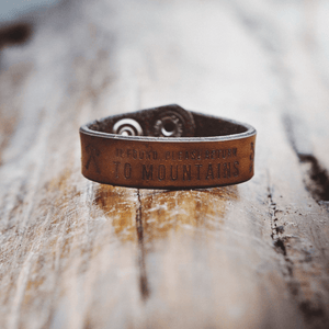 Home Leather Bracelet