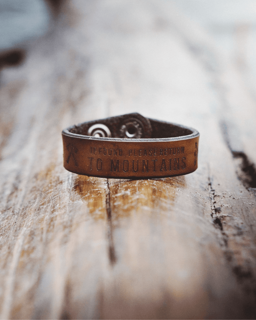 Home Leather Bracelet - Wondery