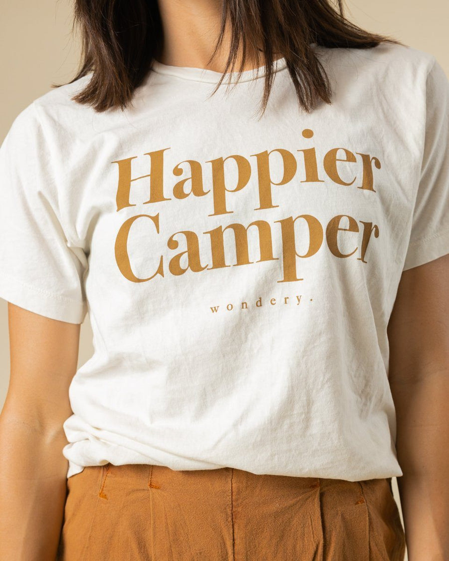 Happier Camper Tee - Wondery, A Parks Apparel Brand