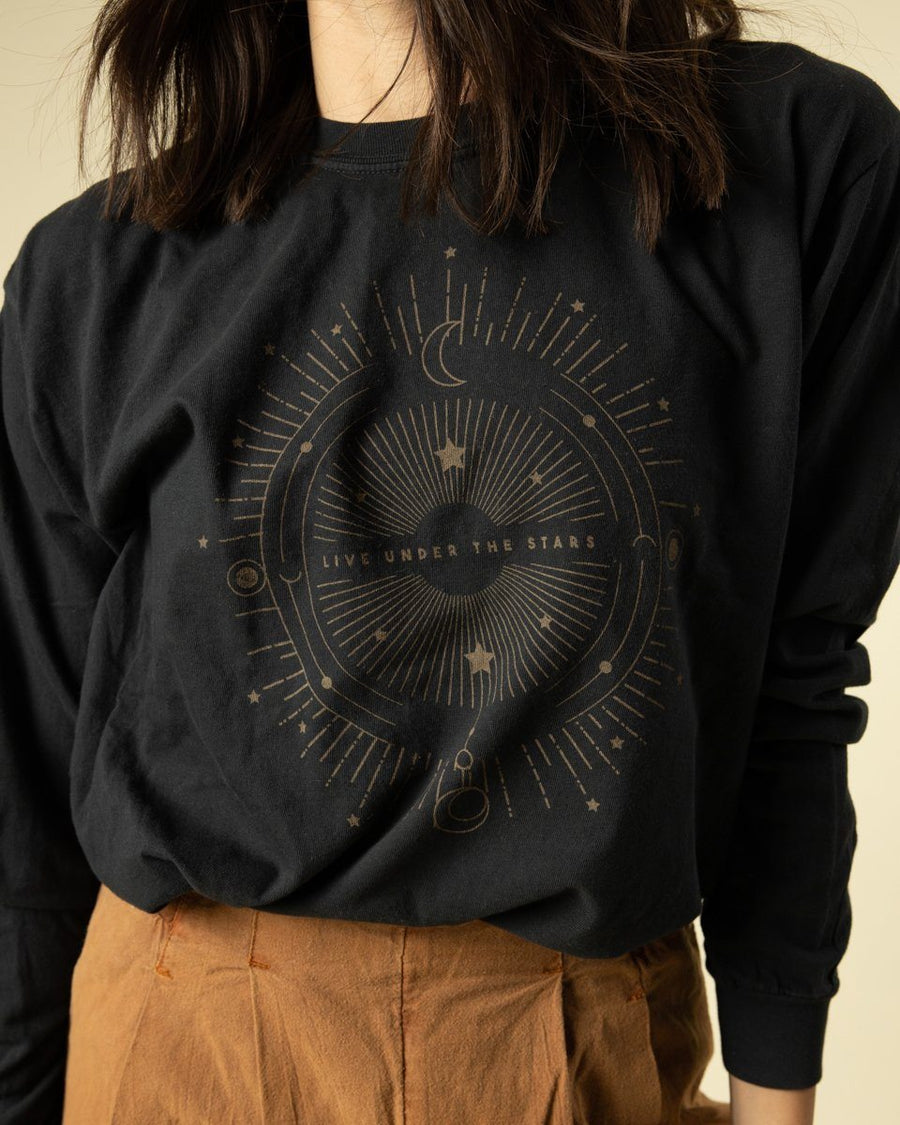 Live Under The Stars Long Sleeve - Wondery, A Parks Apparel Brand