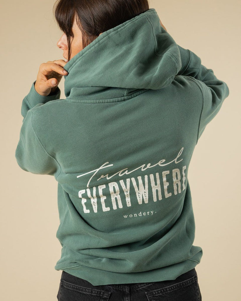 Travel Everywhere Hoodie - Wondery