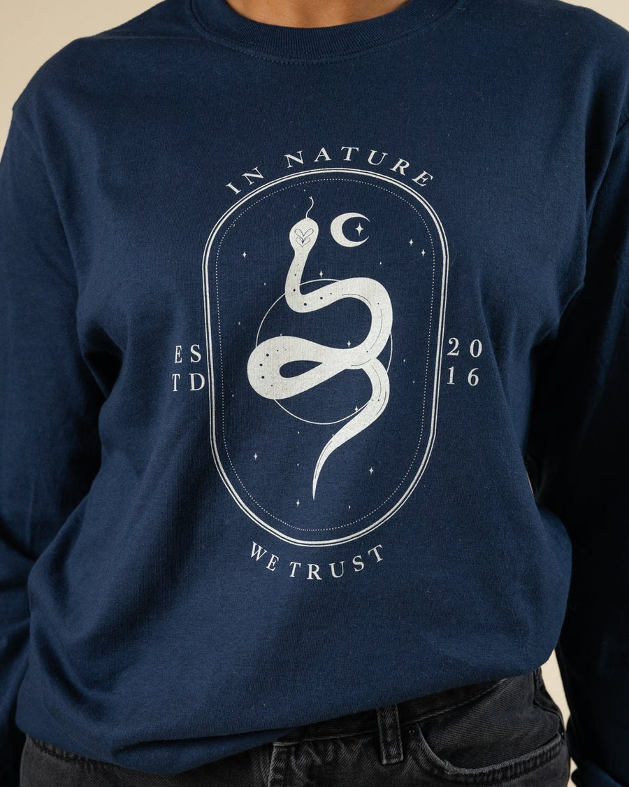 In Nature We Trust Long Sleeve - Wondery