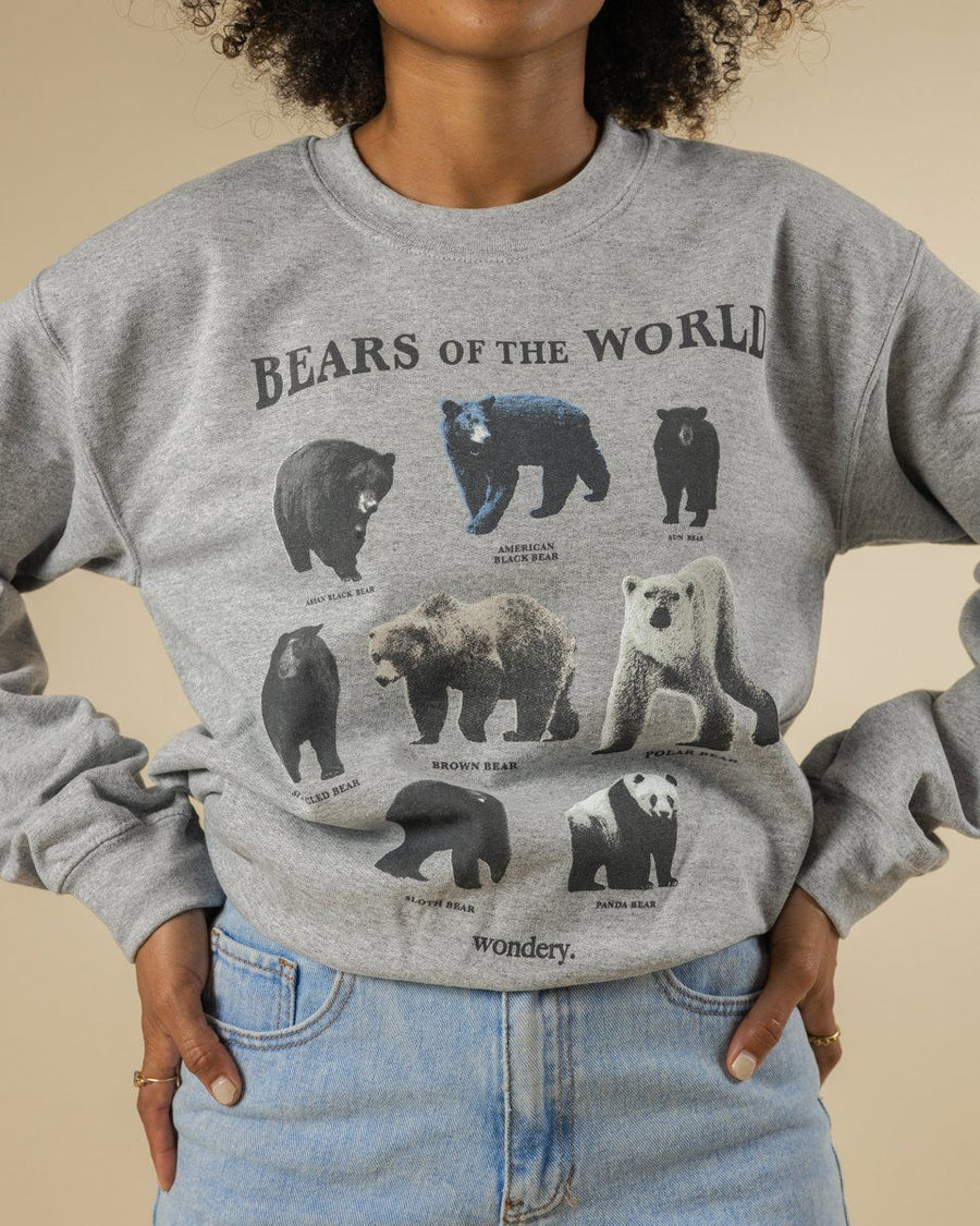 Bears of the World Crewneck - Wondery