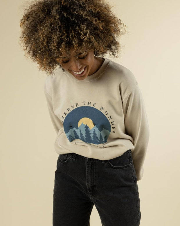 Preserve The Wonder Crewneck 1