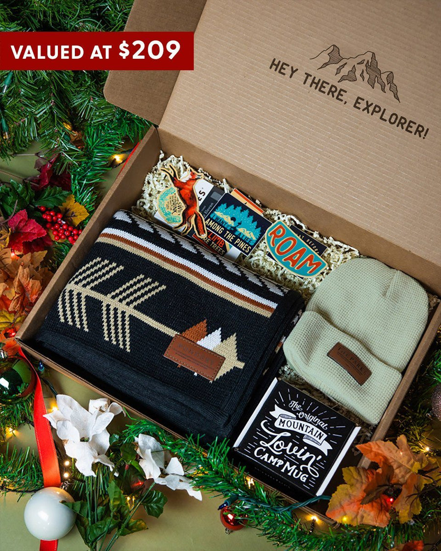 Explorer's Gift Box - Wondery, A Parks Apparel Brand