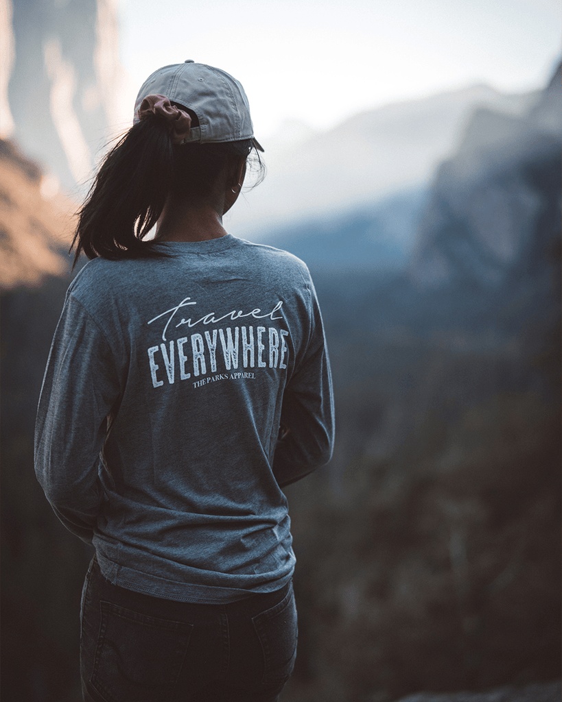 Travel Everywhere Long Sleeve - Wondery