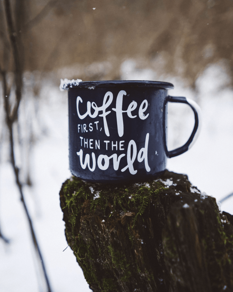 Coffee First Mug - Wondery