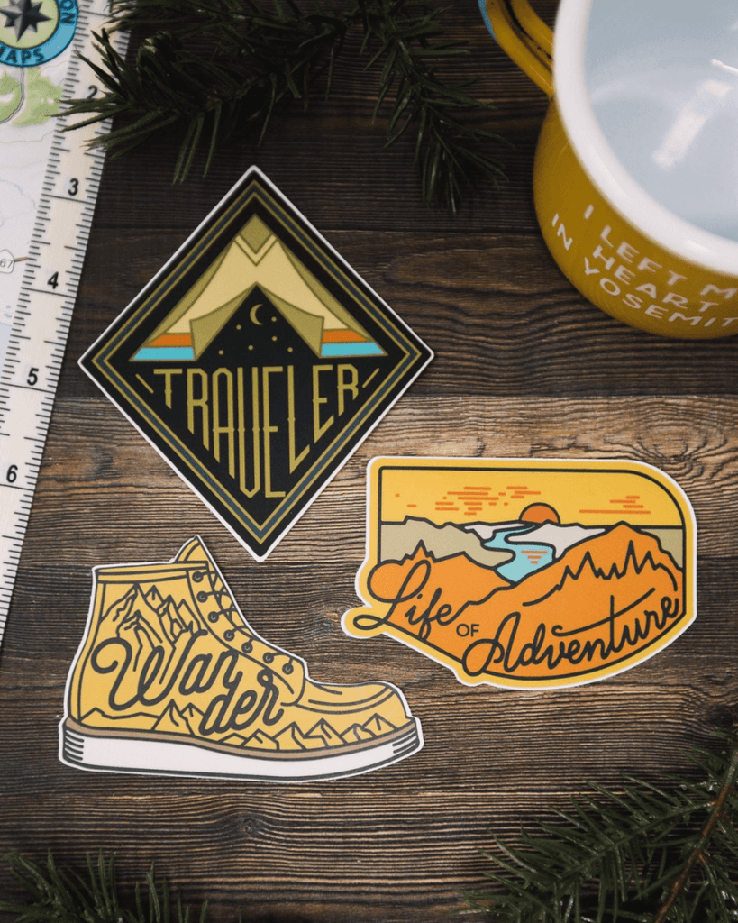 Adventure Sticker Set #1 - Wondery
