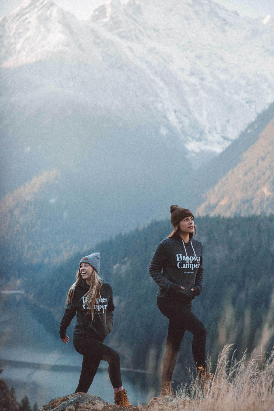 Eco Happier Camper Hoodie - Wondery, A Parks Apparel Brand