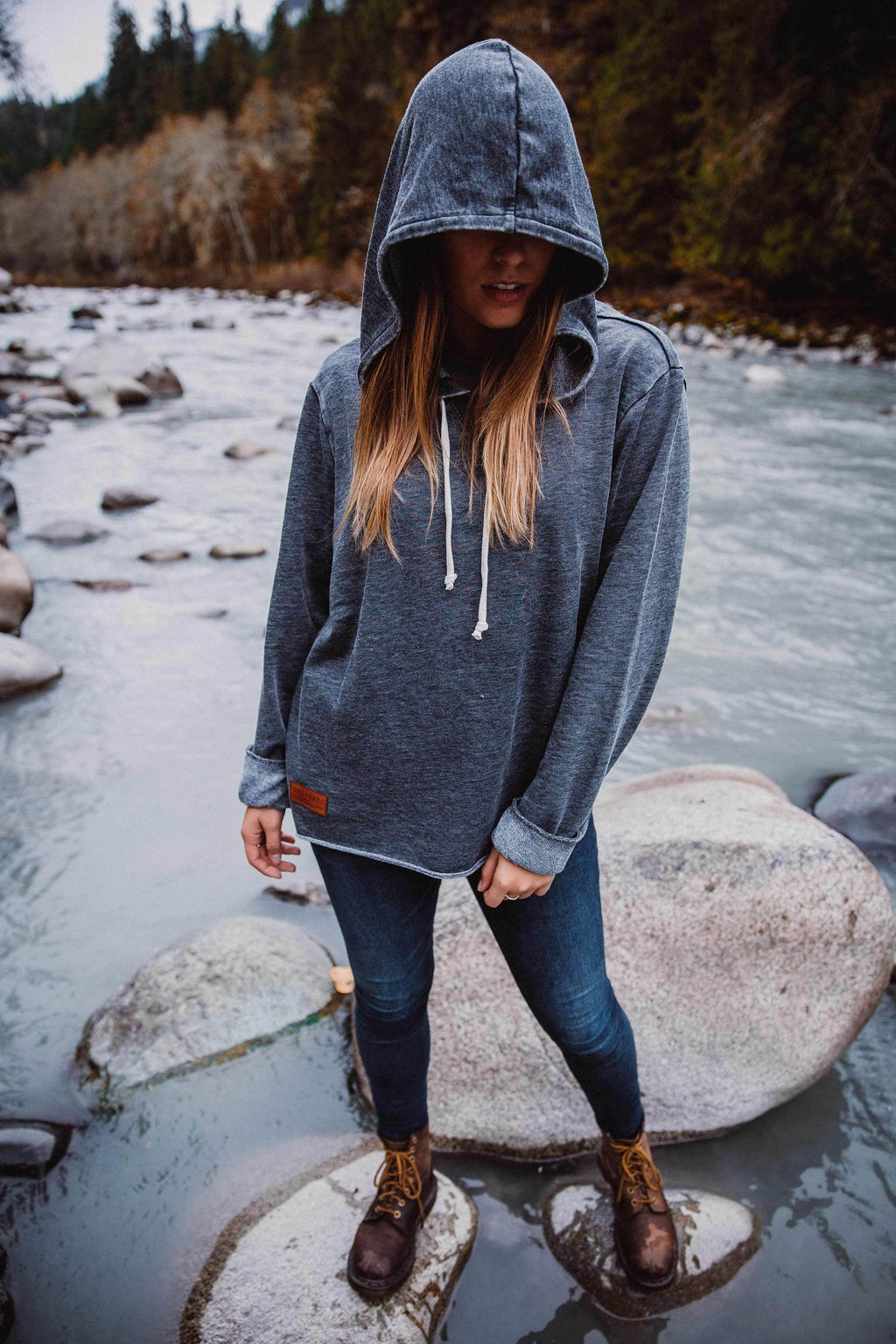 The Parks French Terry River Hoodie - The Parks Apparel