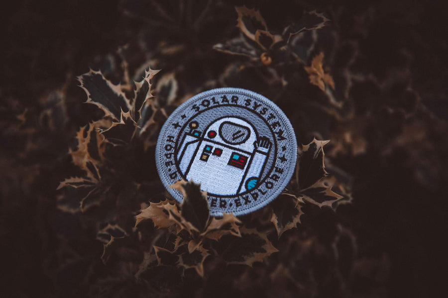 Astronaut Space Explorer's Patch - Wondery, A Parks Apparel Brand