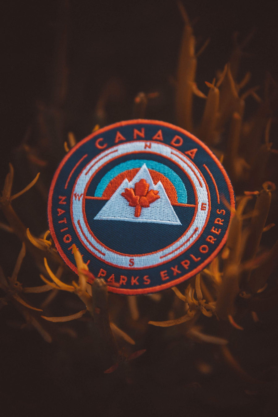 Canada Maple Leaf National Parks Explorer's Patch - Wondery, A Parks Apparel Brand